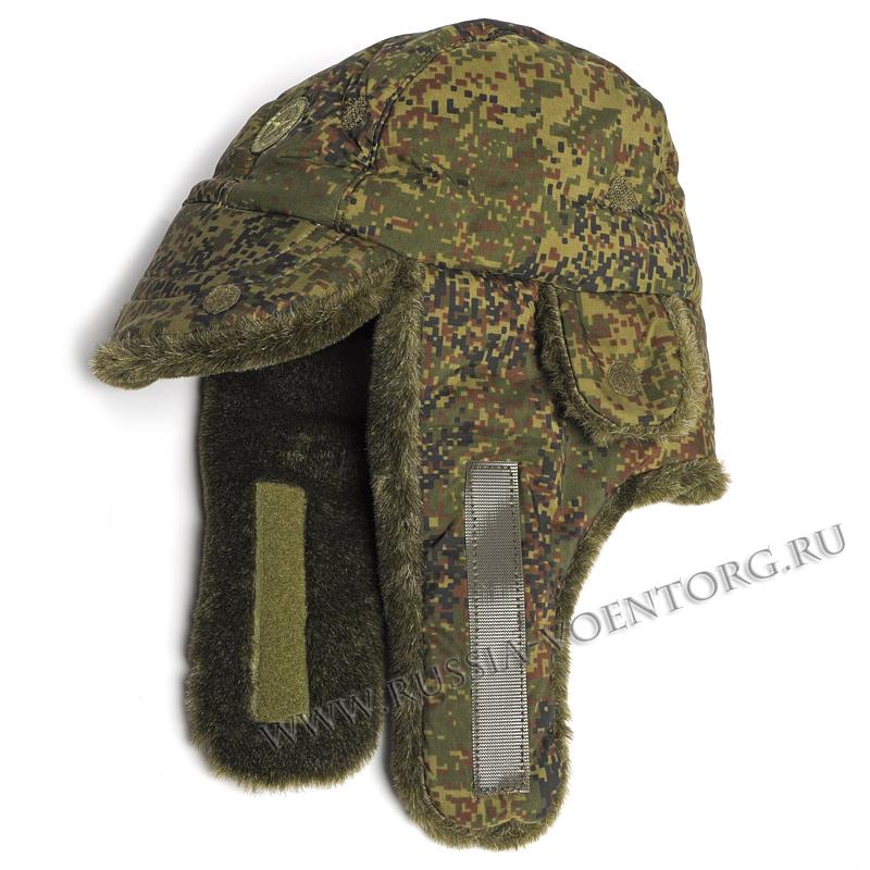 Шапка-ушанка утепленная ВКБО(ВКПО)