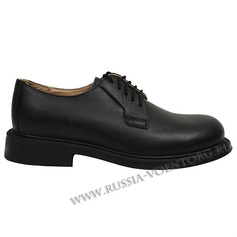 Туфли уставные на шнурках (не лакированные)