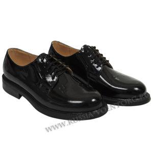 Туфли уставные лакированные на шнурках для ВС