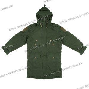 Куртка демисезонная  для военнослужащих,защитного цвета