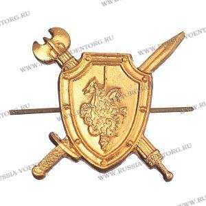 Эмблема петличная Военная полиция золото,металл