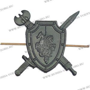Эмблема петличная Военная полиция защитная,металл