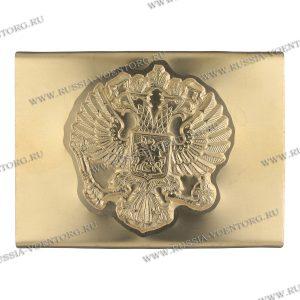 Бляха(пряжка) на солдатский ремень жестяная ( тонкая латунь) Орел РФ