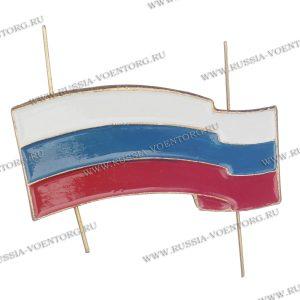 Флаг РФ металлический