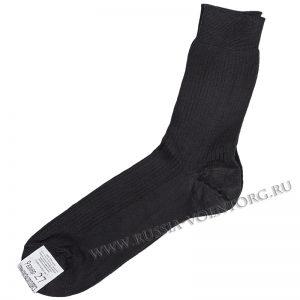 Носки х\б черного цвета для военнослужащих