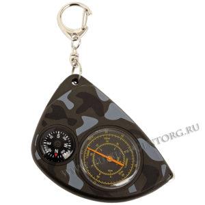 Курвиметр+компас с карабином
