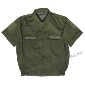 Костюм летний защитного цвета (офисная форма) кор\руав